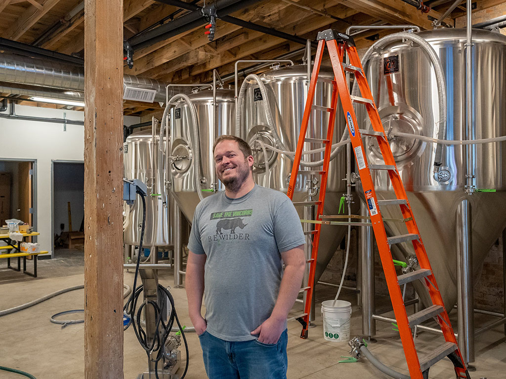 Bewilder Brewing - Ross Metzger