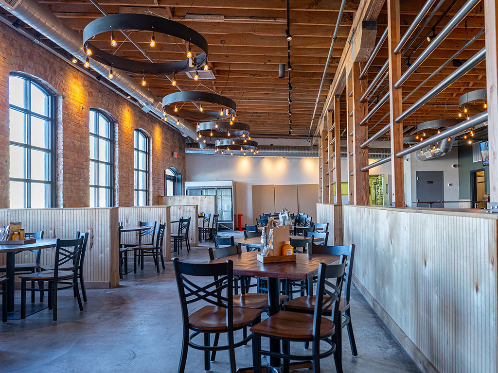 Bewilder Brewing - dining room