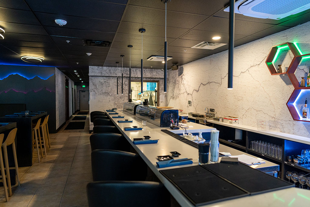 Blue Marlin - sushi counter