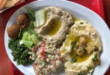 O Falafel Etc - mezze sampler (Ya Burned It)