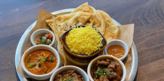 Curry Up Now - thali (Salt Plate City)