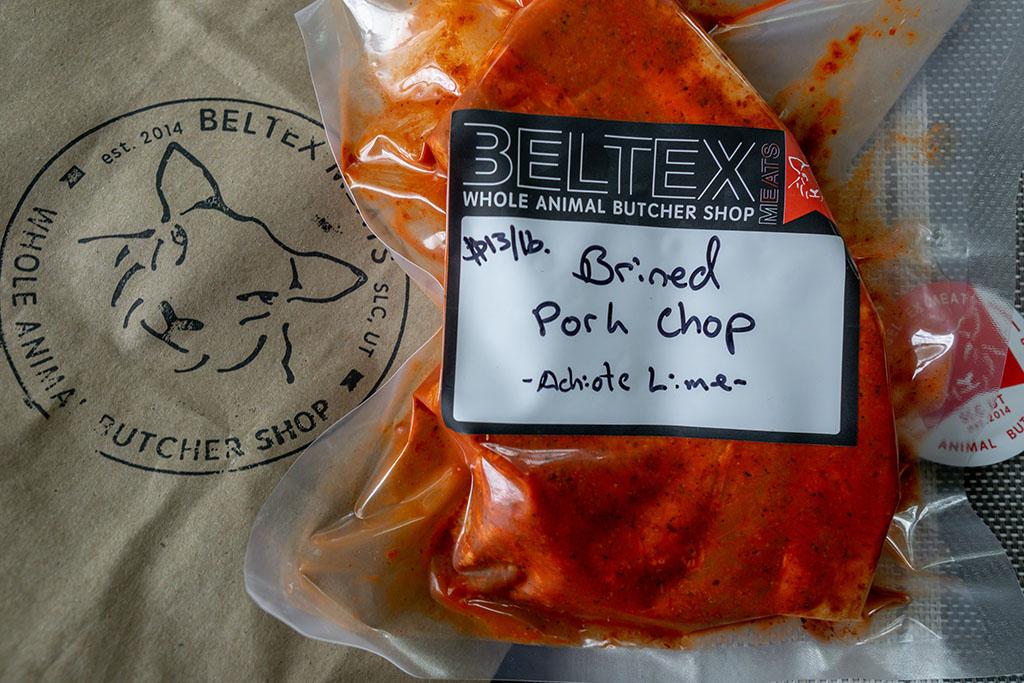 Beltex Meats pork chop