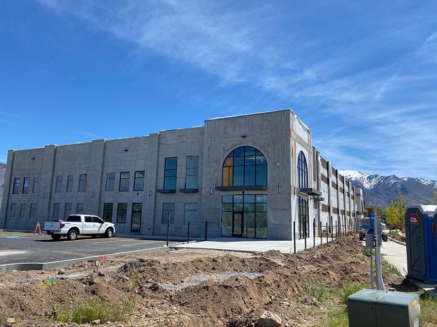 Ogden's Own - new distillery building