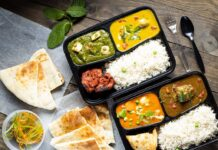 Saffron Valley lunch buffet to go