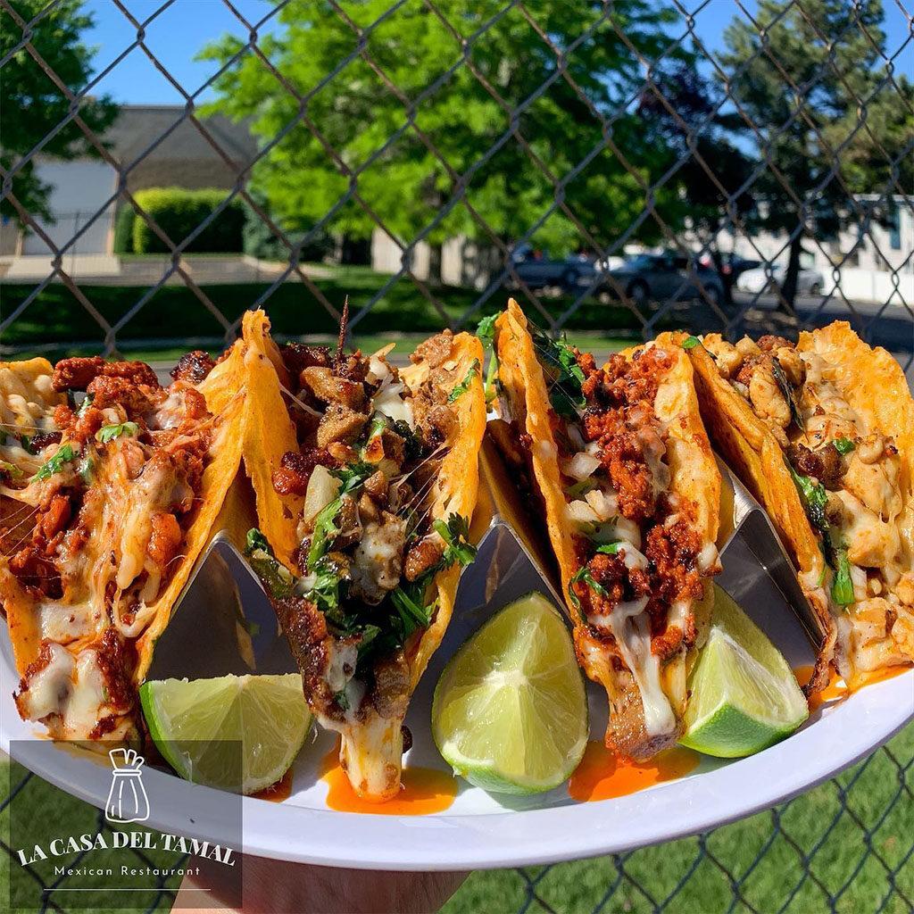La Casa Del Tamal - tacos