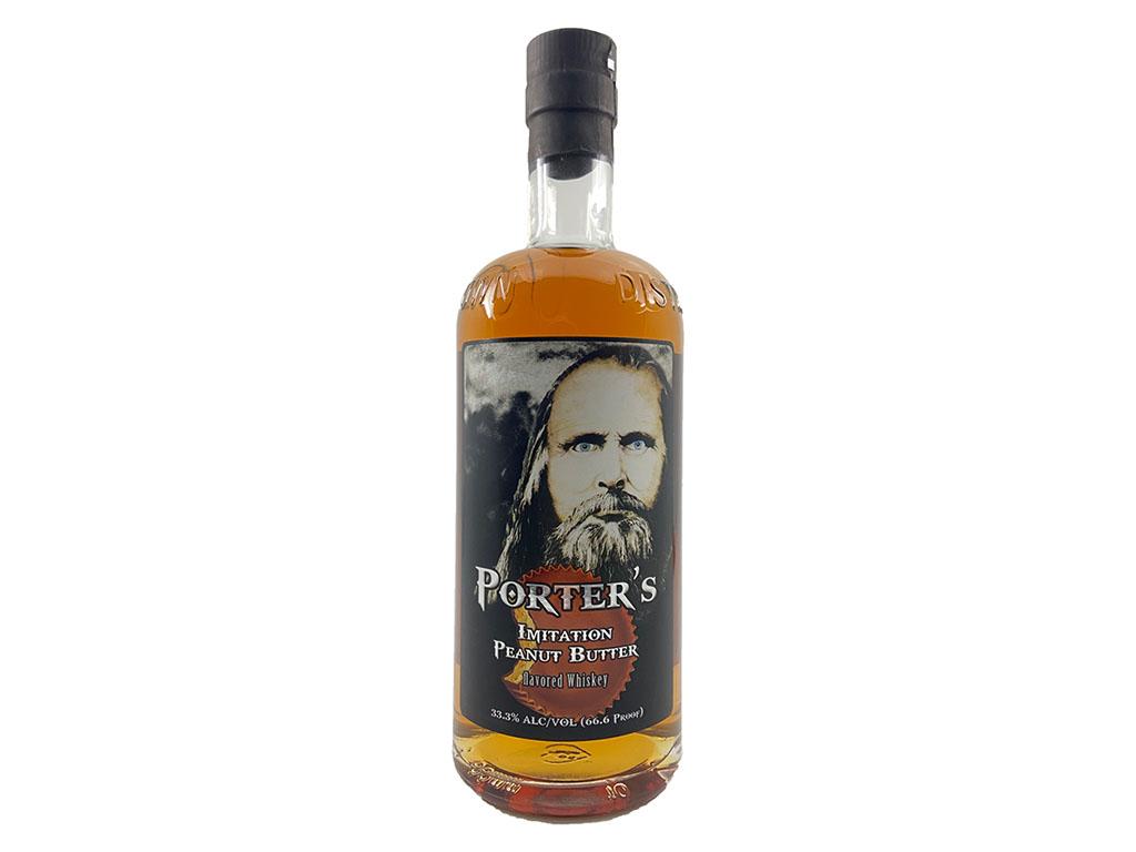 Porter's Peanut Butter Whiskey