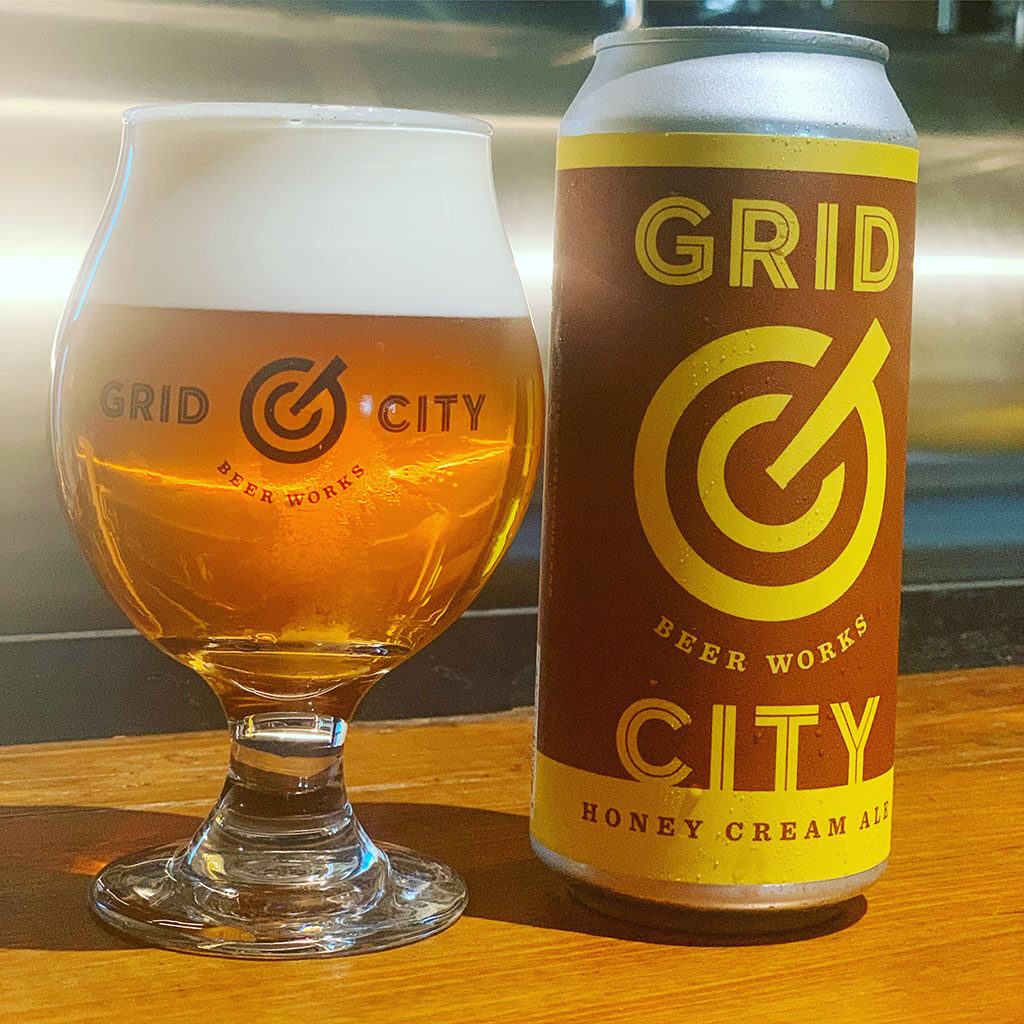 Grid City Beer Works Honey Cream Ale