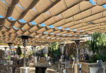 Caffe Molise heated patio
