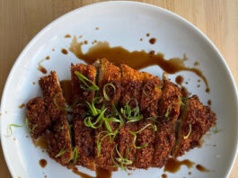Oquirrh - turkey tonkatsu
