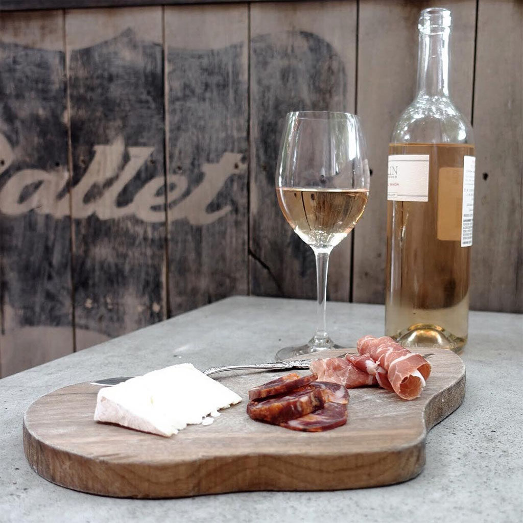 Pallet - charcuterie and Bucklin rose