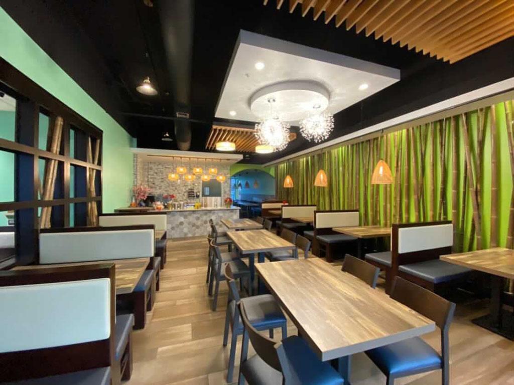 Saigon Vegan Murray interior (Salt Plate City)