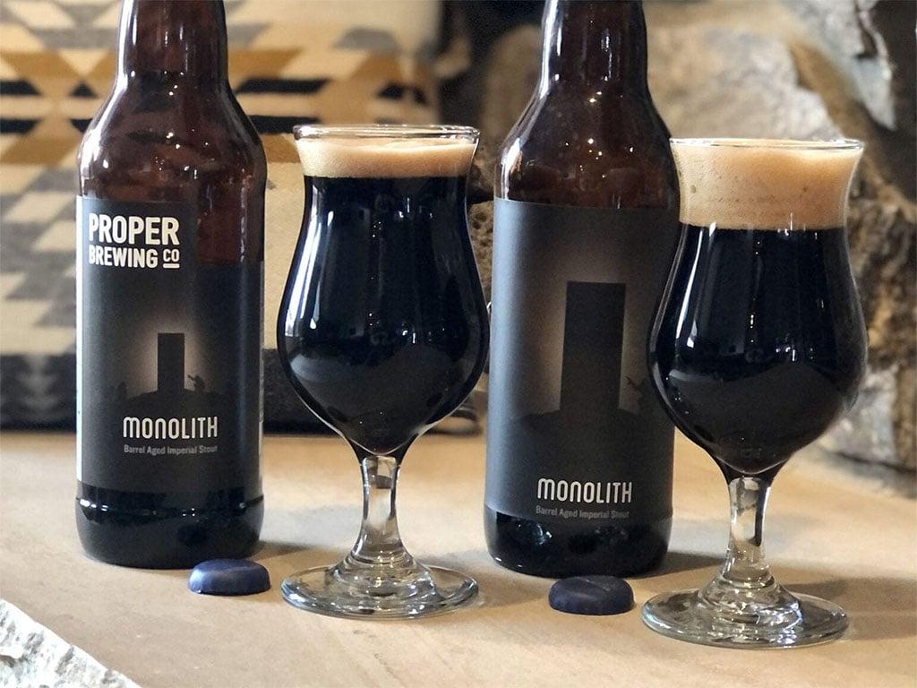 Proper Brewing Monolith (Utah Beer News)