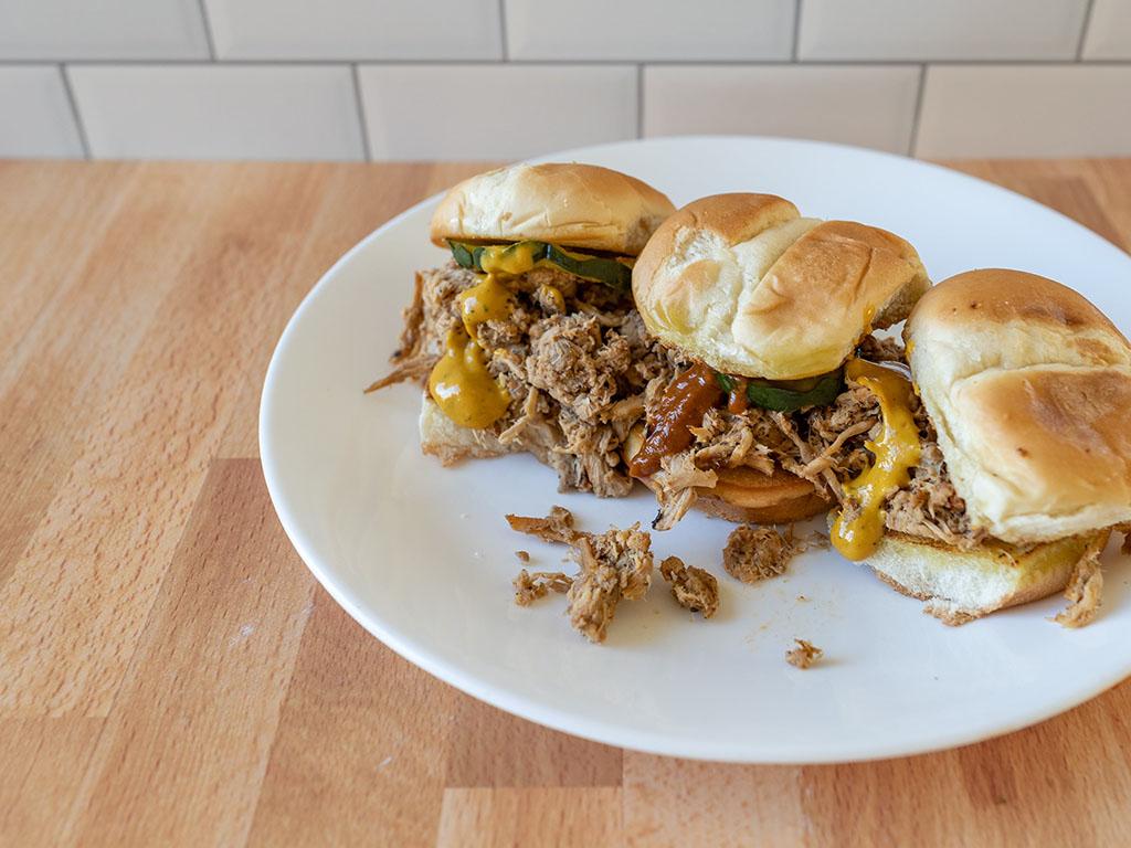 Cinder Pig - BBQ pork sliders