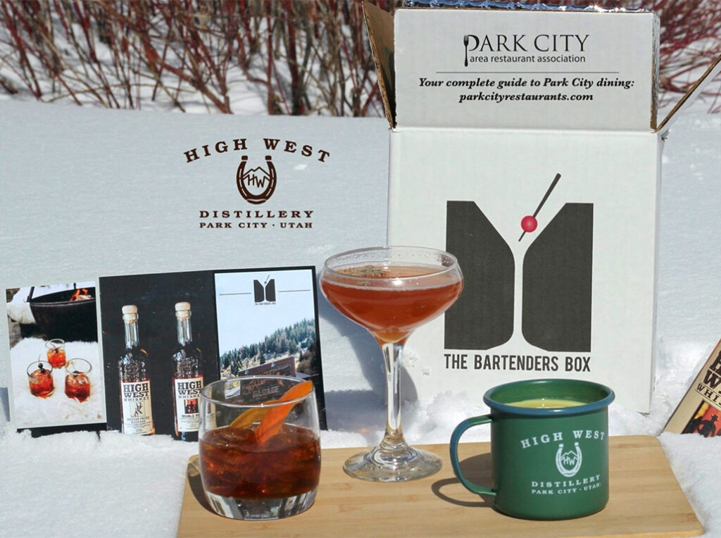 Top Shelf Introduces High West Bartenders Box