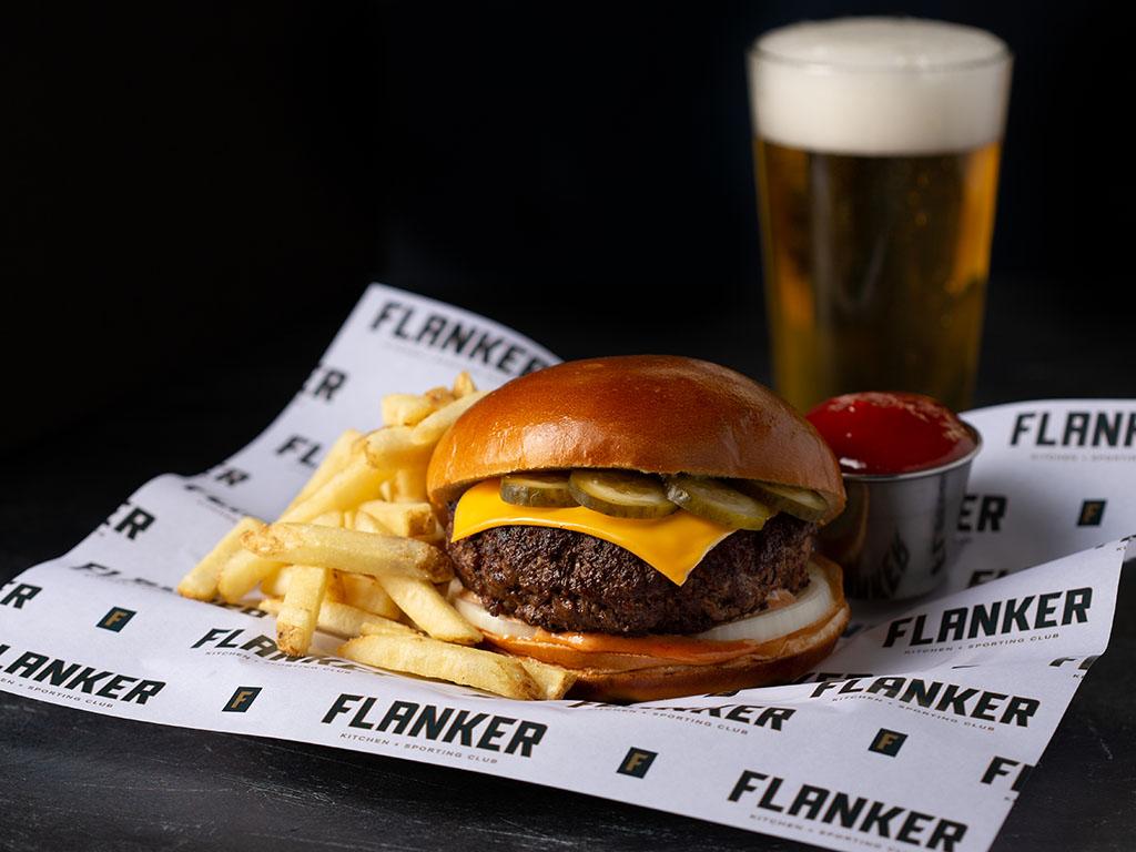 Flanker Kitchen + Sporting Club, Jacklin Slack Photography.